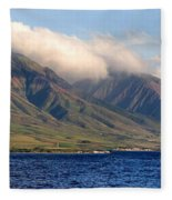 Maui Pano Fleece Blanket