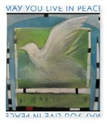 May You Live In Peace Poster Fleece Blanket