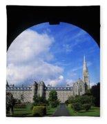 Maynooth Seminary, Co Kildare, Ireland Fleece Blanket
