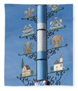 Maypole  Fleece Blanket