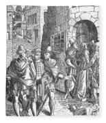 Medieval Prison, 1557 Fleece Blanket
