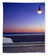 Mediterranean Sea At Motril Fleece Blanket