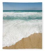 Mediterranean Shore Fleece Blanket