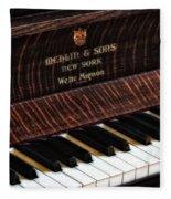 Mehlin And Sons Piano Fleece Blanket