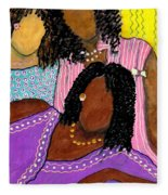 Mellow Sistahs Fleece Blanket