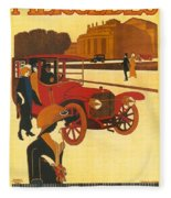 Mercedes Daimler Fleece Blanket