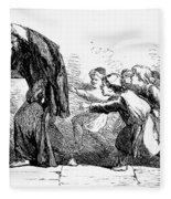 Merchant Of Venice Fleece Blanket