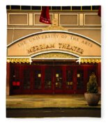 Merriam Theater Fleece Blanket