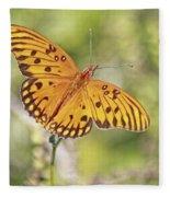 Merritt Butterfly Fleece Blanket