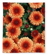 Merry Marigolds Fleece Blanket