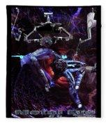 Metal Eve Fleece Blanket