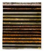 Metal Stripe  Fleece Blanket