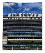 Metlife Stadium Fleece Blanket