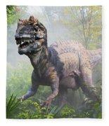 Metriacanthosaurus Fleece Blanket