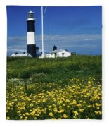 Mew Island, County Down, Ireland Fleece Blanket