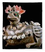 Mexico: Teotihuacan Fleece Blanket