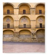 Mezquita And Plaza Del Triunfo Fleece Blanket