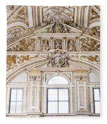 Mezquita Cathedral Renaissance Ornamentation Fleece Blanket