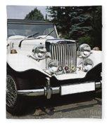 Mg Classic Car Fleece Blanket