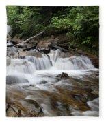 Michigan Waterfall Fleece Blanket