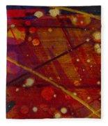Mickey's Triptych - Cosmos II Fleece Blanket
