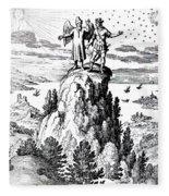 Microcosm, Macrocosm, 17th Century Fleece Blanket