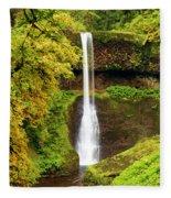 Middle North Falls Fleece Blanket
