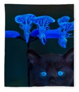 Midnight Blue Fleece Blanket