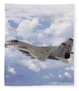 Mig29 Pastel Fleece Blanket