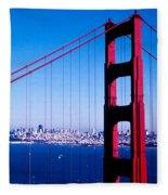 Mighty Golden Gate Fleece Blanket