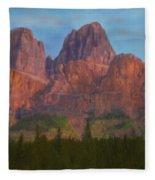 Mighty Mountains Fleece Blanket