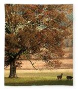 Mighty Oak Fleece Blanket