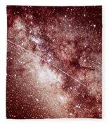 Milky Way In Sagittarius Fleece Blanket