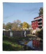 Mill Apartments Fleece Blanket