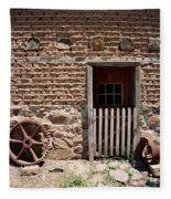 Mill Door Fleece Blanket