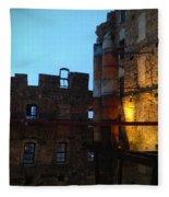 Mill Ruins Fleece Blanket