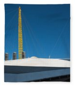 Millennium Dome London Fleece Blanket