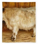 Mini Moo Fleece Blanket