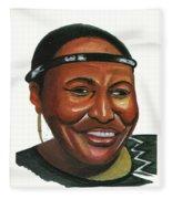 Miriam Makeba Fleece Blanket