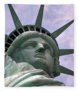 Miss Liberty Fleece Blanket