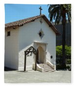 Mission San Rafael Arcangel Chapel Fleece Blanket