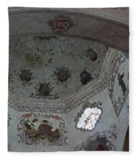 Mission San Xavier Del Bac - Vaulted Ceiling Detail Fleece Blanket