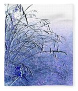 Misty Blue Fleece Blanket