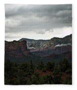 Misty Mountain II  Fleece Blanket