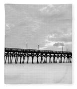 Misty Pier Fleece Blanket