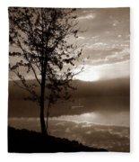 Misty Reflections S Fleece Blanket