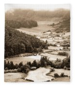 Misty Valley Fleece Blanket