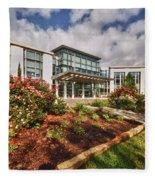 Mitchell Cancer Center Fleece Blanket