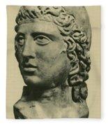Mithras, Zoroastrian Divinity Fleece Blanket