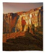 Moab Ut Fleece Blanket